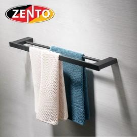Giá treo khăn kép inox304 Black series Zento HC6809